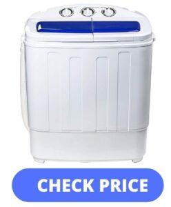 Display4top Mini Portable Twin Tub Washing Machine