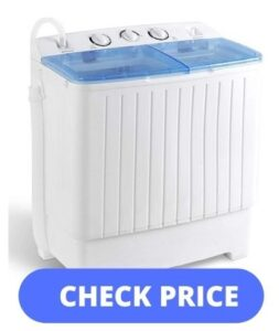best-portable-washer-for-apartment-SUPER DEAL 2IN1 Mini Compact Twin Tub