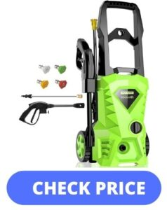 Best Power Washer for Cleaning Cars, Driveways