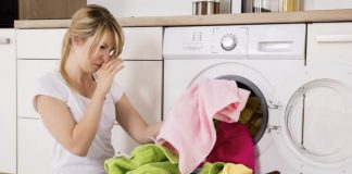 Clean a Smelly Washer