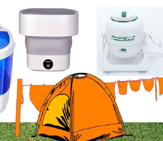 Best Washing Machine For Camping