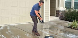 Surface Cleaner For Electric Pressure Washer