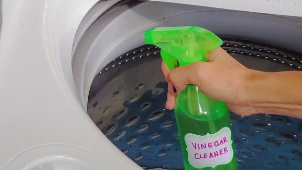 Vinegar Cleaning for Front Loader