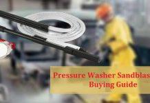 Pressure Washer Sandblasting Kit