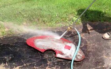 Use A Pressure Washer Sandblasting Kit