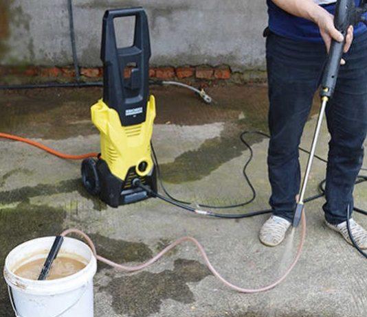 Use Sandblasting Kit With Pressure Washer