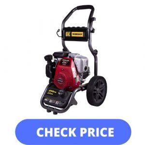BE Power Equipment Gas Pressure Washer