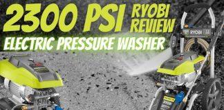 Ryobi 2300 PSI Electric Pressure Washer Review