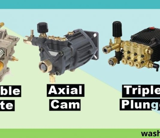 Types Of Pressure Washer Pumps