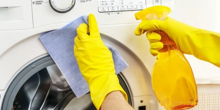 how to clean a washing machine with vinegar